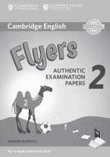 Cambridge English Young Learners 2 for revised exam from 2018 Flyers Answer Booklet