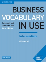 Business Vocabulary in Use Intermediate Book with Answers 3rd edition