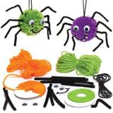 Sada k výrobì dekorace pavouk - bambulka (3ks) AR705