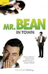 Pearson English Readers 2 Mr Bean in town Book