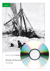 Pearson English Readers 3 Stories of Survival + MP3 Audio CD