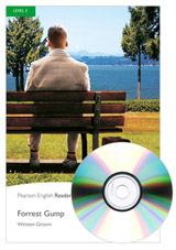 Pearson English Readers 3 Forrest Gump + MP3 Audio CD
