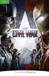 Pearson English Readers 3 Marvel´s Captain America: Civil War + MP3 Pack