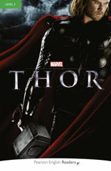 Pearson English Readers 3 Marvel´s Thor + MP3 Pack