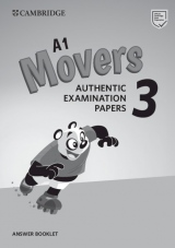 A1 Movers 3 Authentic Examination Papers Answer Booklet