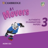 A1 Movers 3 Authentic Examination Papers Audio CDs