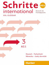 Schritte international Neu 3 Glossar XXL Deutsch-Tschechisch