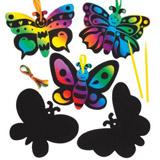 Motýlci barvení škrabáním (AW403)