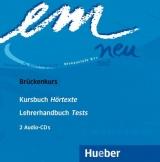 em neu 2008 Brückenkurs Audio-CDs