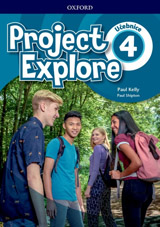 Project Explore 4 Student´s book CZ