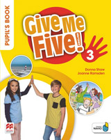 Give Me Five! Level 3 Pupil´s Book Pack