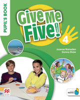 Give Me Five! Level 4 Pupil´s Book Pack