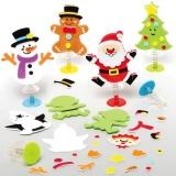 Veselé vánoèní postavy (6ks)