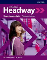 New Headway Fifth Edition Upper Intermediate Workbook with Answer Key
