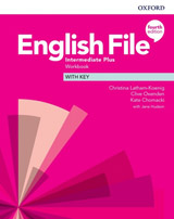 English File Fourth Edition Intermediate Plus Workbook with Answer Key