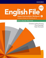 English File Fourth Edition Upper Intermediate Multipack A with Student Resource Centre Pack