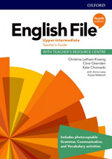 English File Fourth Edition Upper Intermediate Teacher´s Book with Teacher´s Resource Center