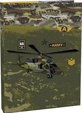 Box na sešity s klopou A4 Army