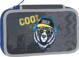Školní penál dvoupatrový Cool Bear