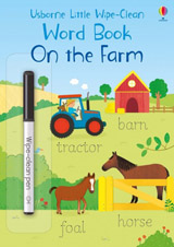 Little wipe-clean word books On the Farm