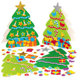 Kartonové vánoèní stromky (6ks) AX594