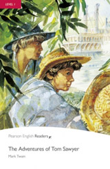 Pearson English Readers 1 Adventures of Tom Sawyer Book + CD Pack