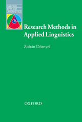 Oxford Applied Linguistics Research Methods in Applied Linguistics