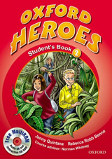Oxford Heroes 2 Student´s Book and MultiROM Pack