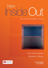 New Inside Out Pre-Intermediate Student´s Books + CD ROM + eBook