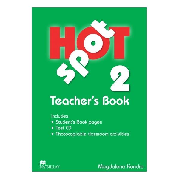 Hot Spot 2 Teacher´s Book + Test CD
