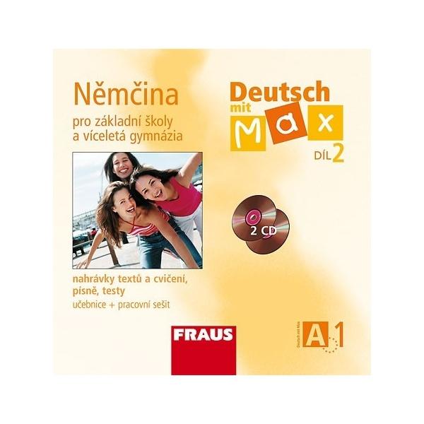 Deutsch mit Max A1 díl 2 CD /2 ks/ (němčina jako 2.cizí jazyk na ZŠ)