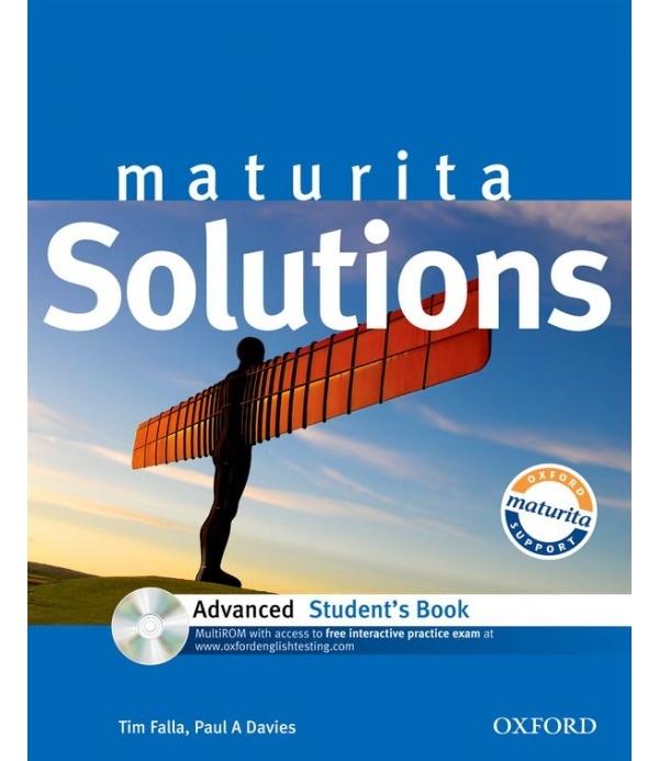 Maturita Solutions Advanced STUDENT´S BOOK + CD-ROM Czech Edition