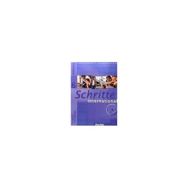 Schritte international 6 Paket - (Kursbuch, Arbeitsbuch, CZ Glossar)