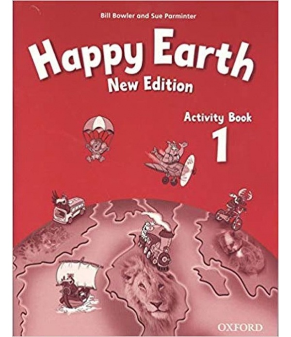 Happy Earth 1 (New Edition) Activity Book with MultiRom