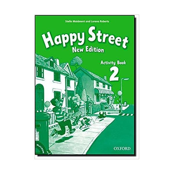 Happy Street 2 (New Edition) Activity Book with MultiRom (International English Edition)
