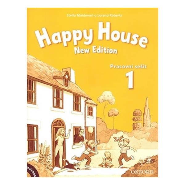 Happy House 1 (New Edition) Pracovní sešit + MultiROM