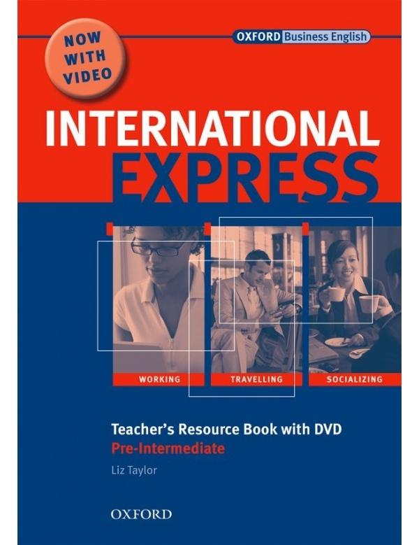 International Express Interactive Pre-Intermediate Teacher´s Resource Book and DVD Pack