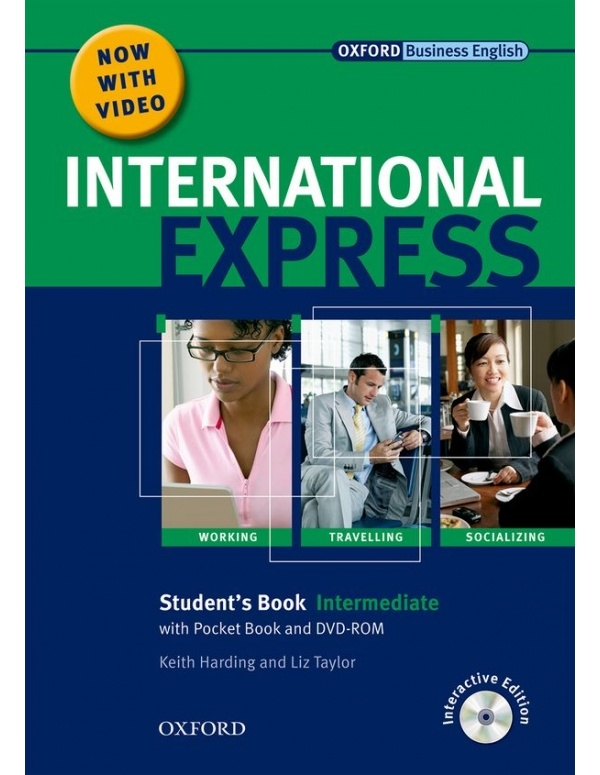 International Express Interactive Intermediate Student´s Pack (Student´s Book. Pocket Book. MultiROM and DVD)