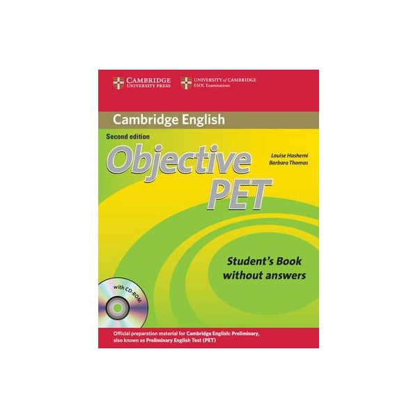 Objective PET (2nd Edition) Student´s Book without Answers with CD-ROM