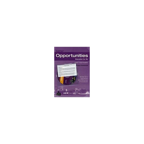 New Opportunities Upper Intermediate Language Powerbook with CD-ROM