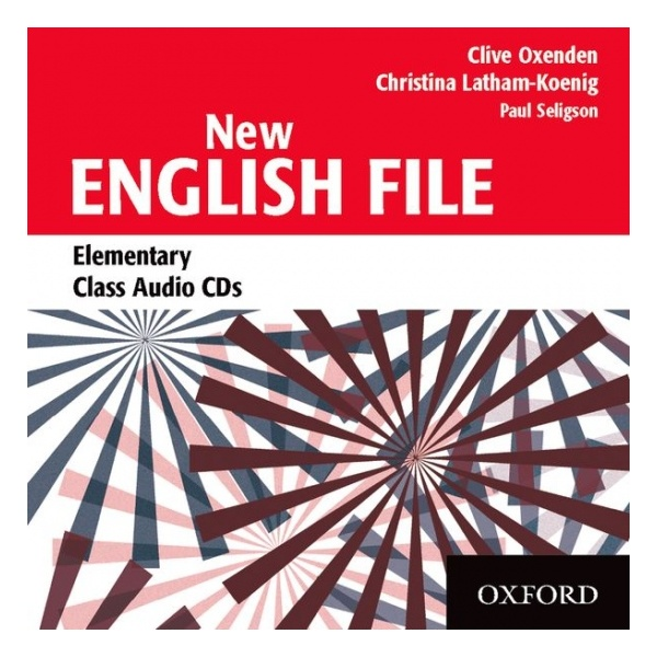 NEW ENGLISH FILE ELEMENTARY CLASS CD (3)