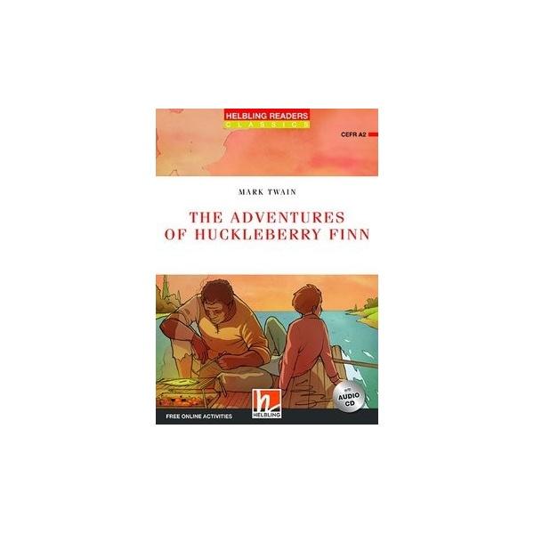 HELBLING READERS Red Series Level 3 The Adventures of Huckleberry Finn + Audio CD (Mark Twain)