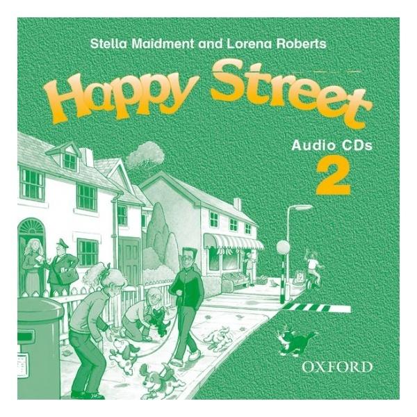 Happy Street 2 Audio CD