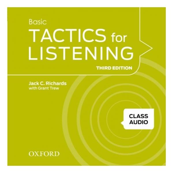 Tactics for Listening, Third Edition 1 Class Audio CDs (4)