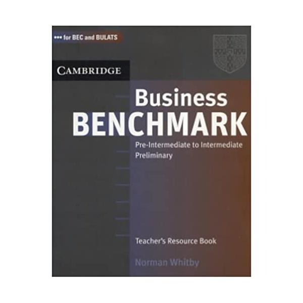 Business Benchmark Pre-Intermediate to Intermediate Teacher´s Resource Book