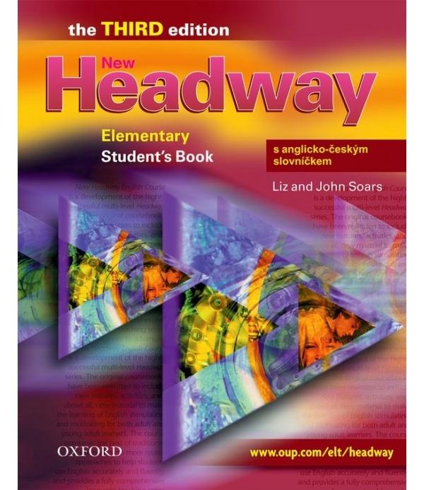New Headway Elementary Third Edition (new ed.) Student´s Book + CZECH WORDLIST