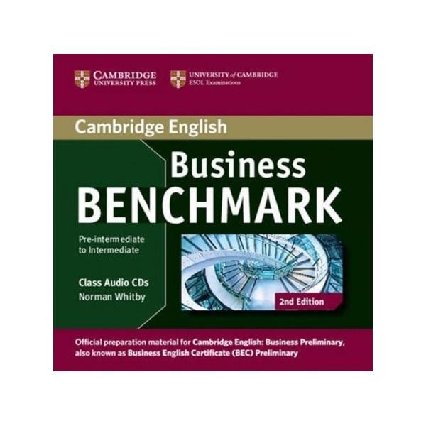 Business Benchmark Pre-Intermediate to Intermediate (2nd Edition) Business Preliminary Class Audio CDs (2)