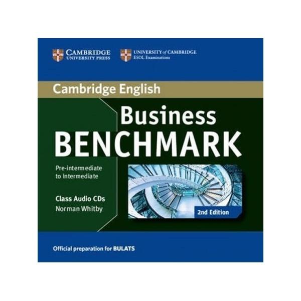Business Benchmark Pre-Intermediate to Intermediate (2nd Edition) BULATS Class Audio CDs (2)