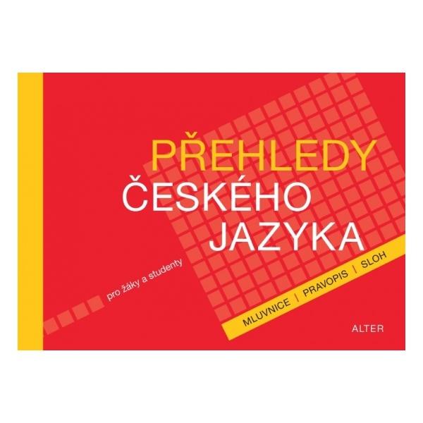 E- Přehledy českého jazyka pro žáky studenty