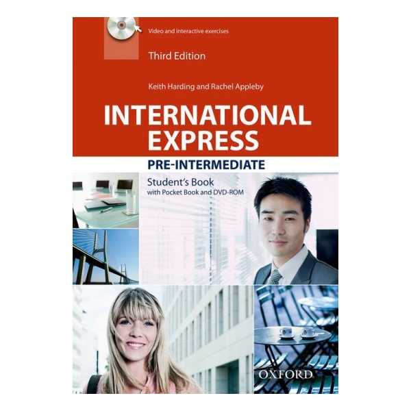 International Express Pre-Intermediate (3rd Edition) Student Book with Pocket Book a DVD-ROM